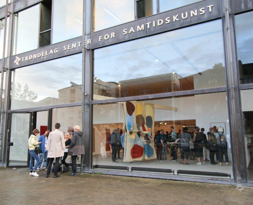 Fasadebilde av Trøndelag senter for samtidskunst