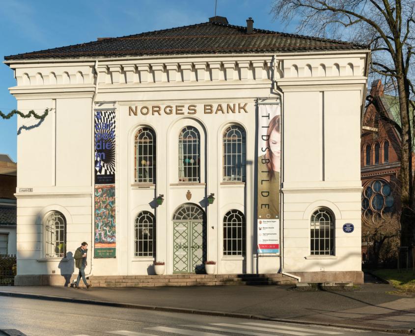 Fasadebilde av Telemark Kunstsenter