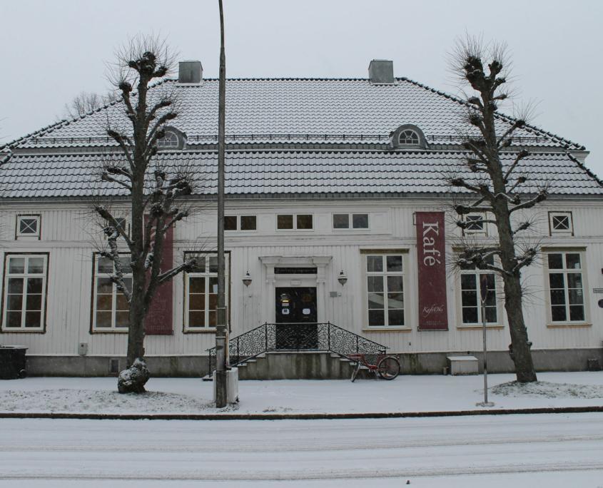Fasadebilde av Østfold Kunstsenter
