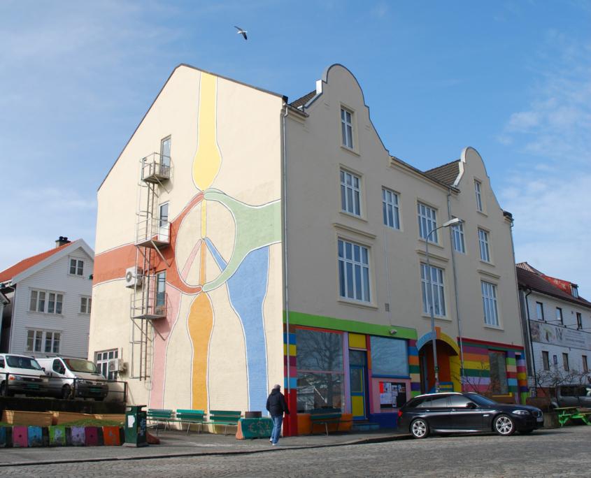 Fasadebilde av Rogaland Kunstsenter