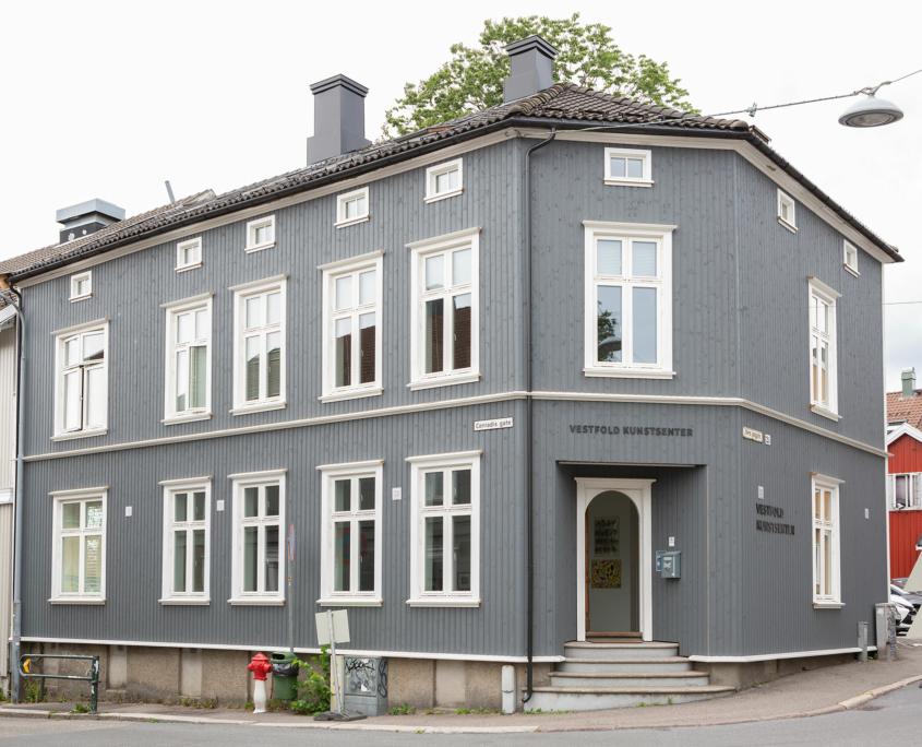 Fasadebilde av Vestfold Kunstsenter