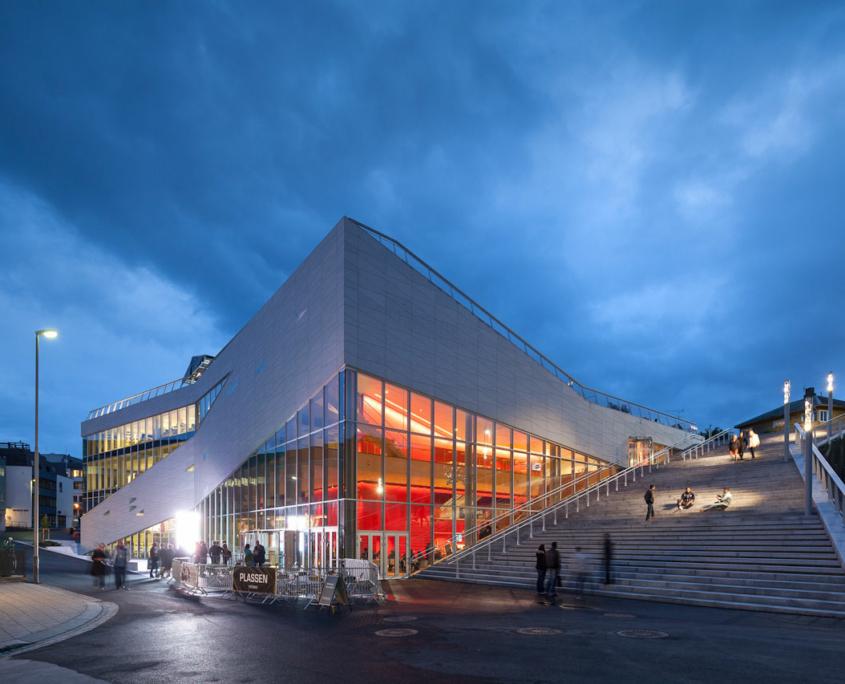 Fasadebilde av Møre og Romsdal Kunstsenter