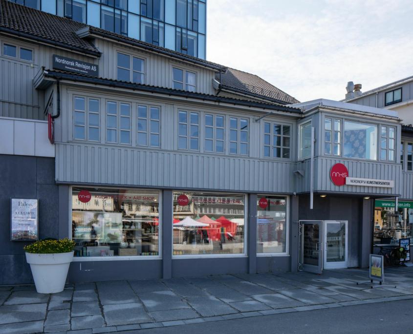 Fasadebilde av Nordnorsk Kunstnersenter