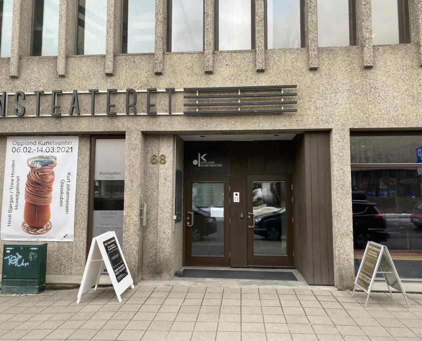 Fasadebilde av Oppland Kunstsenter